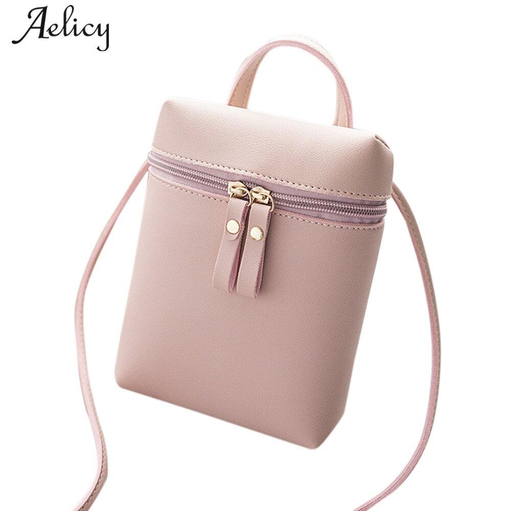 Aelicy 2018 High Quality @@Female Fashion Women Crossbody Bag Shoulder Bag Messenger Coin Phone Bag bolsa feminina Famous Brands