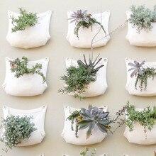 2 шт. 30*35 см зеленый мешок для выращивания Настенное подвесное кашпо вертикальный сад 1 карман для овощей и сада товары для дома