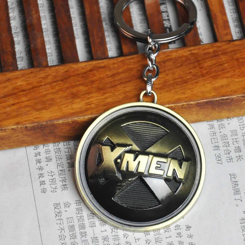 X-Men Llavero Chaveiro Para Homens Bugiganga Anime X Men Chaveiro Anel Titular da Chave Do Carro Chaveiro Chaveiro Jóias Lembranças do presente