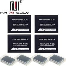 4x NP-W126S NP W126S Battery + 4 box for Fujifilm Fuji XT3 XA5 XT20 XT2 XT1 XH1 XT10 XE3 X100F SHIP WITH TRACKING NUMBER