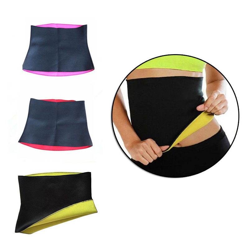 Hot Sell Bodysuit Waist Band Fitness Belts Waist Support for Women Body Building Sweat Belt Sports Safety Accessories