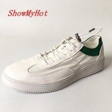 ShowMyHot/обувь на нескользящей резиновой подошве; Мужская Летняя Повседневная дышащая обувь на плоской подошве; сетчатая обувь для отдыха