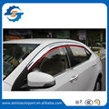High Quality Plating chrome color Car Window Visor Wind Deflector Sun Rain Guard Defletor For corolla 2014 2015