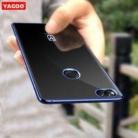 For Huawei Honor 7x Case Ultra Thin Plain Luxury Silicone Phone Case For Huawei Honor 7x