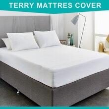 Russian  Elite Terry Waterproof Mattress Protector /Mattress Cover /Mattress Pad 160*200+28cm mattress pad bahar class home collection mattress pad