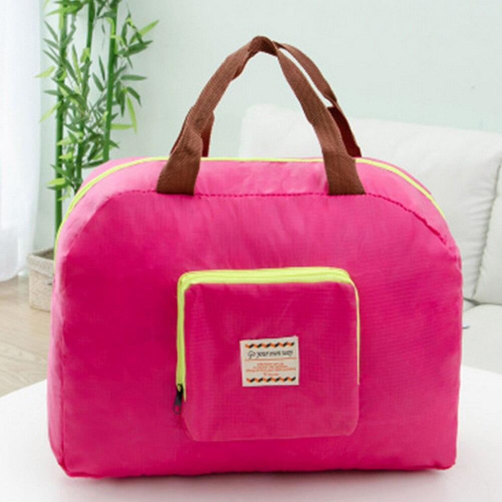 1 Pc Neue Frauen Männer Schulter Lagerung Taschen Hohe Qualität Tragbare Folding Einkaufstaschen Reusable Reise Handtasche Freigabepreis