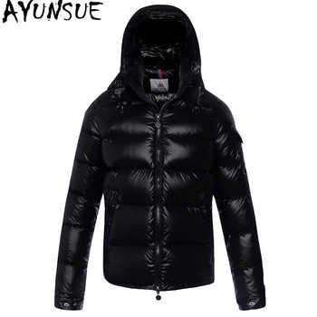 AYUNSUE Men\'s Down Jacket Winter Coat Men Clothes 2020 Short Puffer Jacket Warm Doan Coat Men\'s Jackets Doudoune Homme KJ1031 - DISCOUNT ITEM  51 OFF Men\'s Clothing