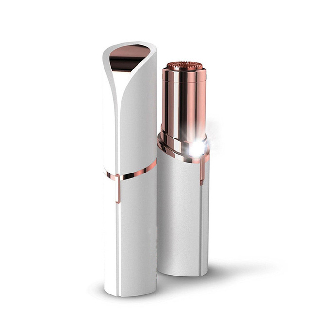 Electric Painless Lipstick Shaving Shaver Lady Hair Remover  For Women Facial