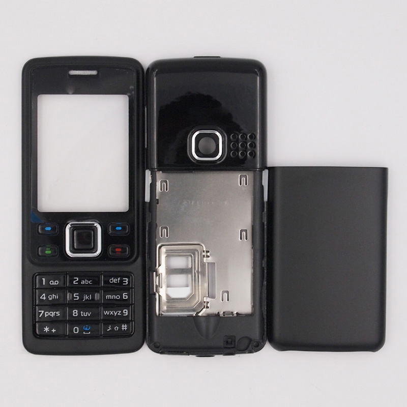 cheap for discount 1eef9 f55bc US $6.03 |BaanSam New Housing Case For Nokia 6300 With English Keyboard-in  Phone Pouch from Cellphones & Telecommunications on Aliexpress.com | ...