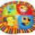 2016 bebê dos desenhos animados brinquedo crianças brincam Mat Tapete Infantil brinquedos de pelúcia educacional Gym Crawling cobertor crianças atividade ginásio 0 - 3 anos