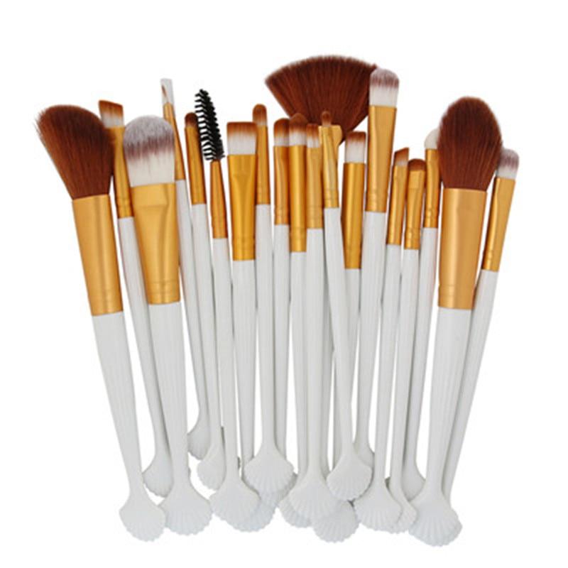 20pcs Professional Cosmetic Makeup Brushes set kit Foundation Eyeshadow Eyeliner Lip Make Up Brush Blusher Eye Shadow Brushes 1 pc make up brushes set eye brushes set eyeliner eye shadow eyeshadow blending pencil brush makeup brushes