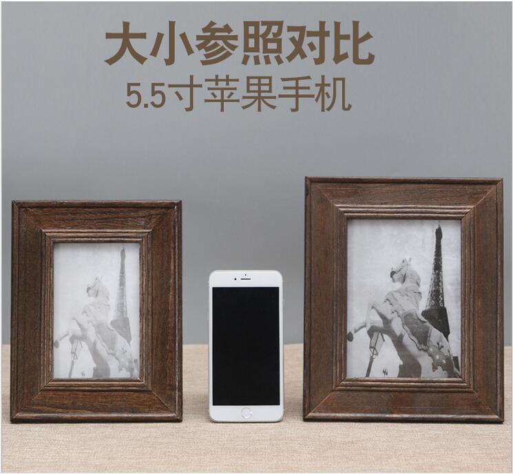 Großzügig Holzbilderrahmen Mehrere Fotos Galerie ...