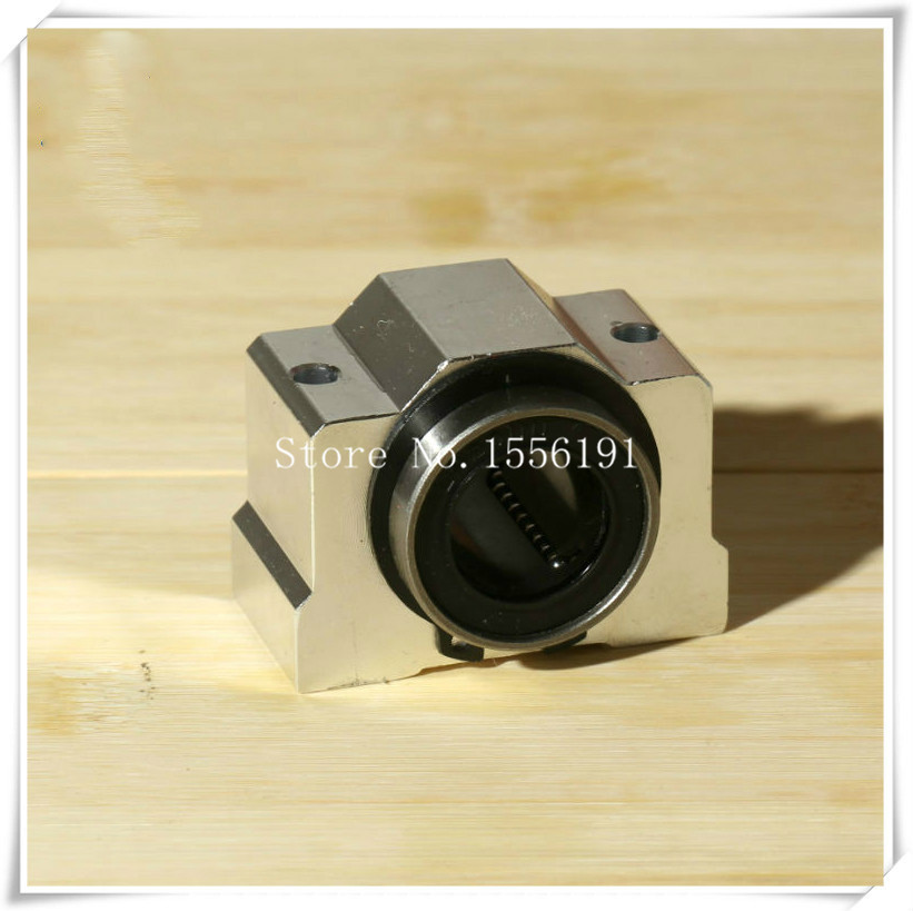 SCV50UU Slide Linear Bearings Aluminum box type Cylinder axis SCV50 Linear motion ball silide units CNC