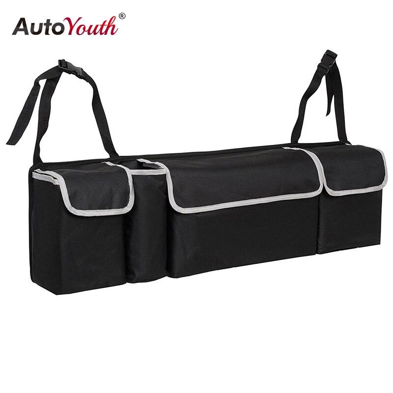 Багажник автомобиля, организатор сиденье сумка для хранения Высокое Ёмкость Multi-использовать ткань Оксфорд заднем сиденье автомобиля орга...