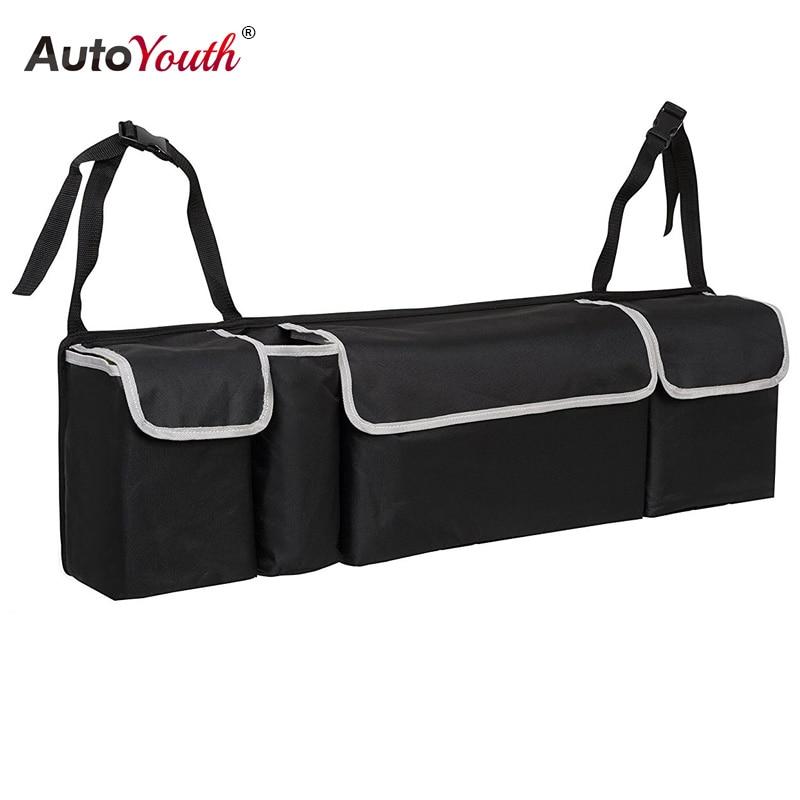 font b Car b font Trunk Organizer Backseat Storage Bag High Capacity Multi use Oxford