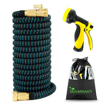 Expandable Garden Magic Hose Flexible Garden Water Hose High Pressure For Car Hose Pipe Plastic Hoses To Watering With Spray Gun