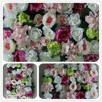 2017 NEW High Quality 10pcs Lot Wedding Flower Wall Arch Flore Backdrop Decorative Wholesale Artificial Flower