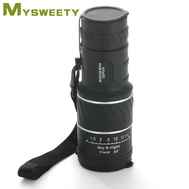 40 x 60 High Quality Outdoor HD Day and Night Vision Long Range Monocular Telescope.