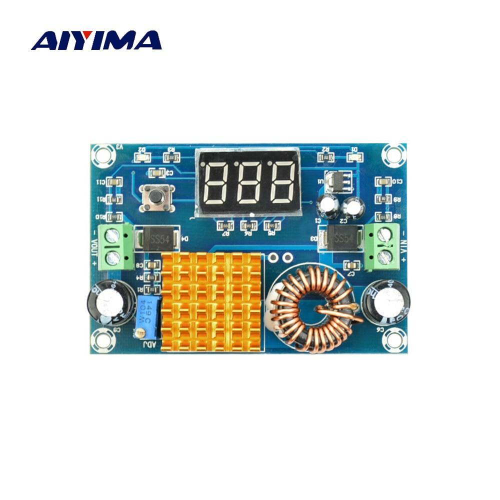 Aiyima Digital Boost Module DC-DC 3V-35V Step-up 5V-45V High Power Booster Board Output 5A