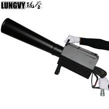 Livraison gratuite Co2 confettis Machine confettis tir pistolet Streamer lanceur Co2 confettis Blaster contrôle manuel