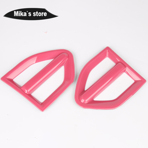 Image 5 - 1 pair Auto Outdoor Side Wing Fender Cover Stickers Turn signal Sticker For mini cooper Countryman F60 One / S  Car Accessories