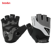 Boodun Cycling Gloves Half Finger Bicycle Gloves Bike Gel Pad Racing Biking Gloves Guantes Ciclismo Luva Guantes Bisiklet sktoo 4 color summer cycling half finger 3d gel padded shockproof gloves racing anti slip mtb outdoor guantes ciclismo luva