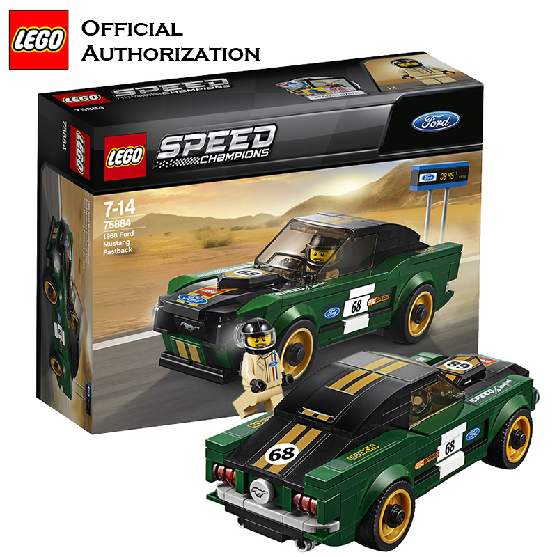 great quality where can i buy reputable site US $30.79 29% OFF|LEGO Building Bricks DIY Toy Speed Champion Ford Mustang  Super Sport Car Creative Blocks Lego Bricks Toy For Children Brinquedos-in  ...