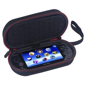 Image 1 - Futerał do przechowywania dla PS Vita Case 1000 2000 twardy futerał ochronny torba podróżna dla Sony PSV 1000 2000 Liboer BP100 gry torby
