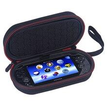 PS Vita 케이스 1000 2000 하드 케이스 소니 PSV 1000 2000 Liboer BP100 게임 가방에 대 한 보호 여행 가방 상자를 들고