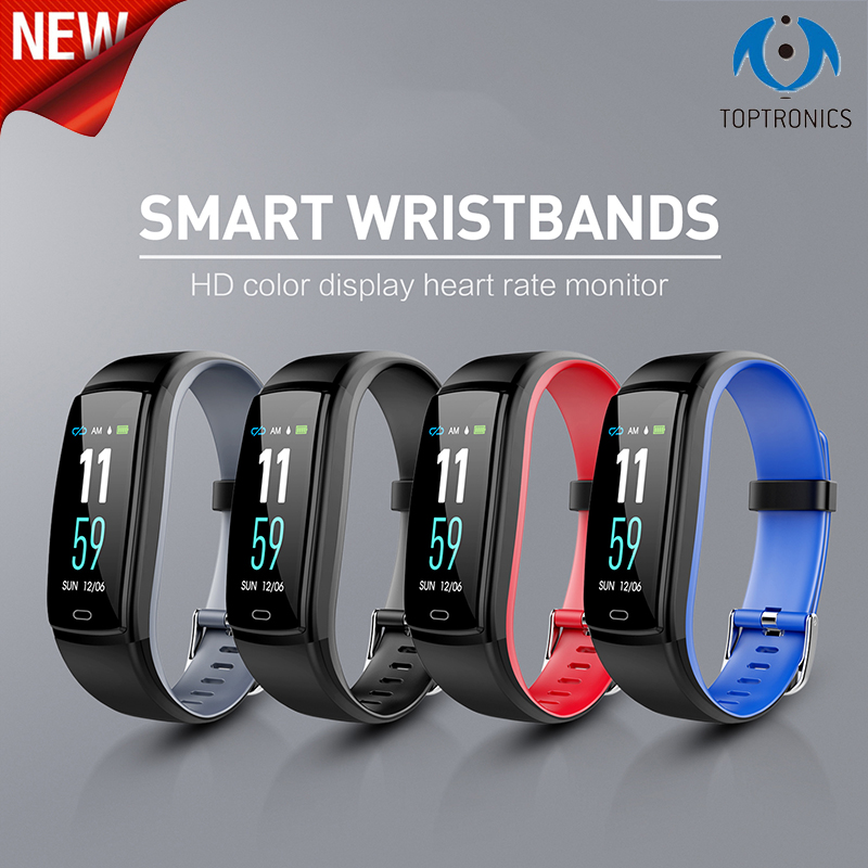 Bracelet intelligent mode Bracelet intelligent fréquence cardiaque montre de pression artérielle Tracker Fitness Smartband pk mi band 3 Pk honour band 4