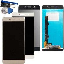 กรอบ 5.0 สำหรับ Huawei Y6 Pro Y6Pro/G Powe TIT AL00 TIT U02 จอแสดงผล LCD Touch Screen Digitizer Assembly + กรอบ + เครื่องมือ