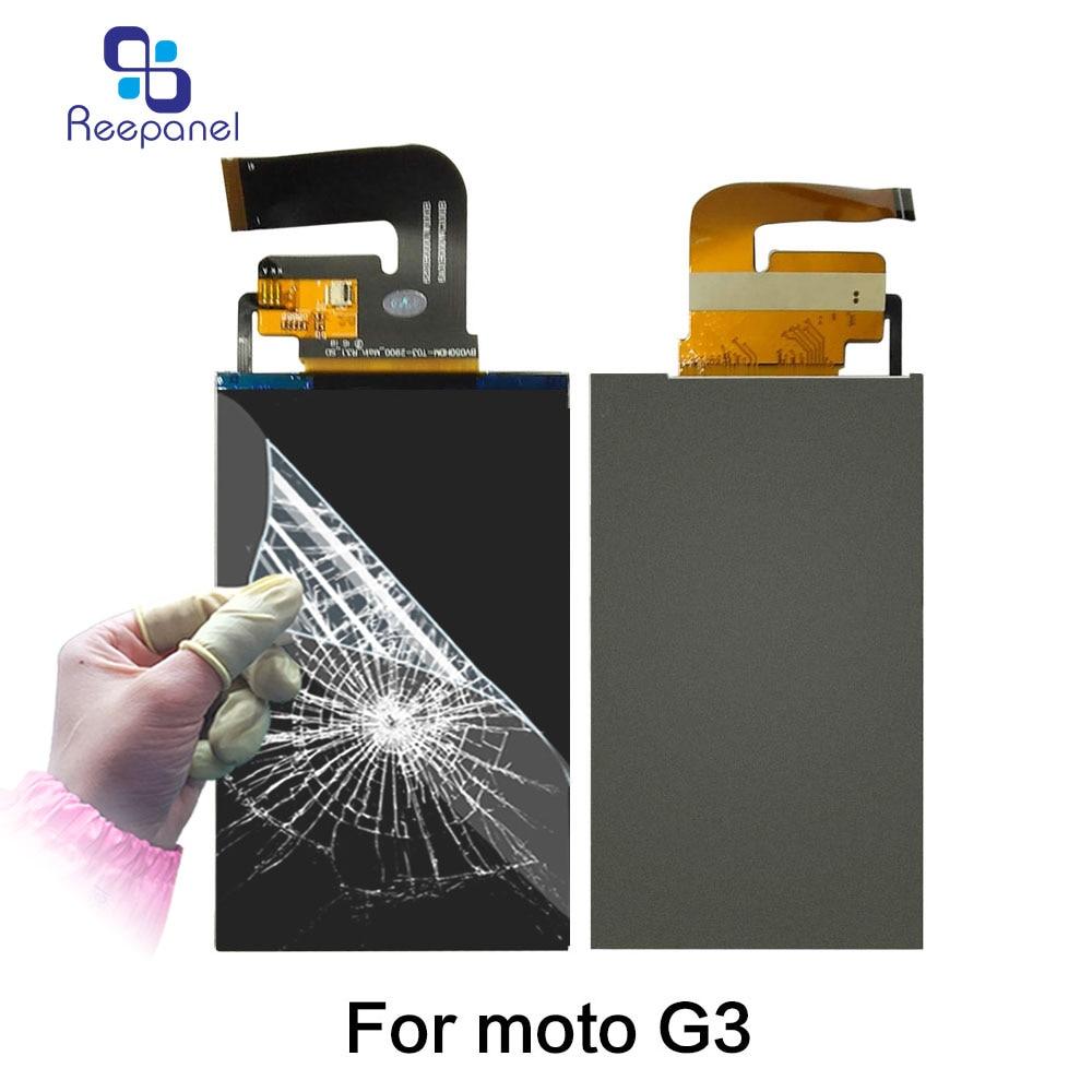 10PCS/Lot LCM For Motorola Moto G3 Xt1540 XT1541 Xt1543 Xt1544 Xt1550 LCD Module LCD Display Monitor Replacement Assembly parts