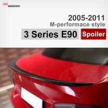 М-стиль Исполнения E90 углеродного волокна багажника спойлер автомобиля крыло для BMW 3 3-Й серии E90 2005-2011 316i 318i 320i 323i 325i 330i 335i