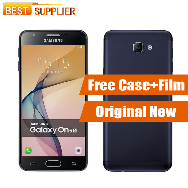 New Arrival Original Samsung Galaxy On5 2016 G5700 3GB RAM 32GB ROM 5.0'' Octa Core GPS Dual SIM 13.0 MP Android Smartphone