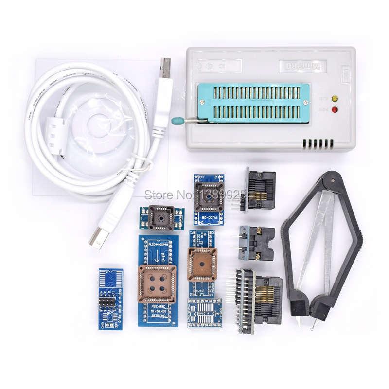 Mini Pro TL866II PLUS USB BIOS Universele Programmeur Kit Met 9 Pcs Adapter