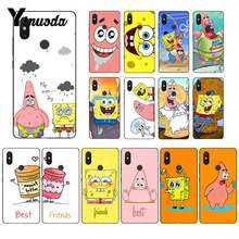 Yinuoda best friends forever BFF Spongebob Coque Shell Phone Case for Xiaomi Mi6 Mix2 Mix2S Note3 8 8lite Redmi 5 note5 Note4 4X(China)