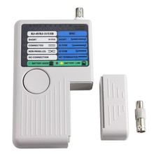 New Remote RJ11 RJ45 USB BNC di Rete LAN Cavo Tester Per Cavi UTP STP LAN Tracker Detector Strumento di Alta Qualità