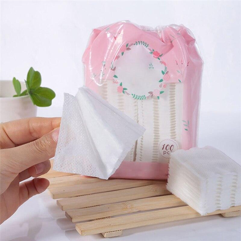 100pcs High Quality Makeup Cotton Cleansing Remover Cotton
