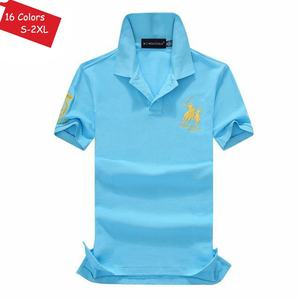 Image 5 - Good Quality 2020 New Summer Brand Mens Short Sleeve Polos Shirts Casual 100% Cotton Lapel Clothes Fashion Male Slim Tops S XXL