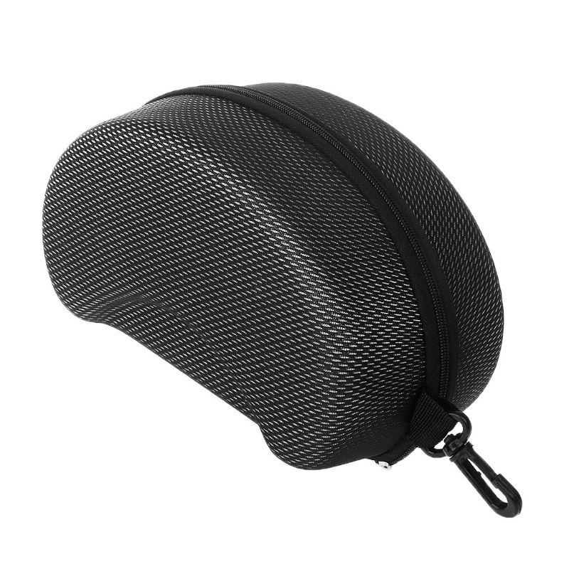 Fee Shipping High Quality Protection EVA Ski Goggle Case Sunglasses Carrying Zipper Buckle Hard Box Holder