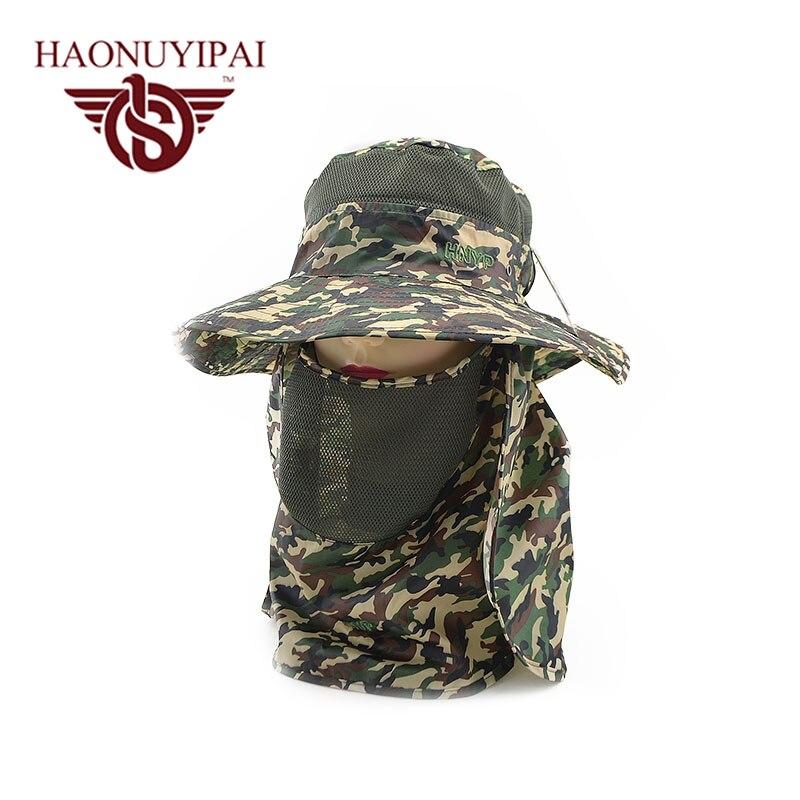 Wide Brim Men Women Bucket Hat With String Waterproof Outdoor Fishing  Hunting Hat Fisherman Bone Caps Mountain Climbing Sun Hat e54221a7844