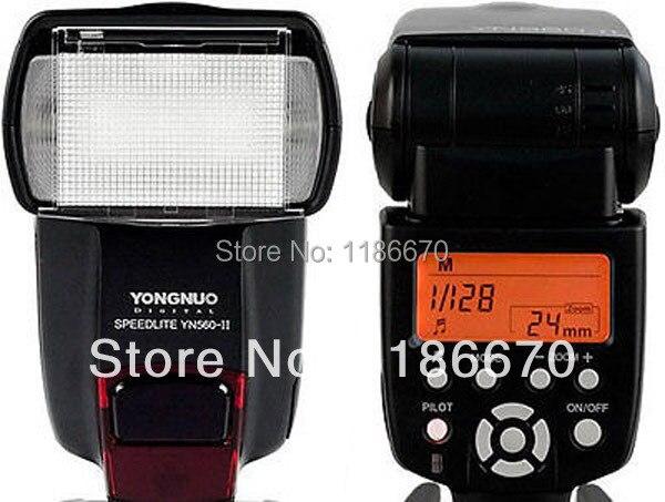 ФОТО FREE SHIP! Flash Speedlite YN560II YN-560II For Canon EOS 5D II 5D3 7D 6D 60D 50D 40D 700D 650D 600D 550D 500D 350D 1100D 1000D