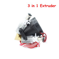 3D Pinter Parts 3 IN 1 OUT Extruder E3D V6 Hotend J Head Nozzle 0 4