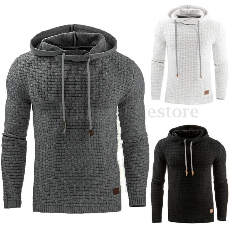 Hoodies Men hooded sweatshirt Male Long Sleeve Solid color Hooded Sweatshirt Mens Hoodie Tracksuit Streetwear