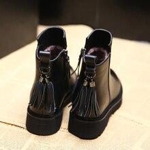 2018 nueva moda suave mujer botas primavera otoño Vintage Fringe Zapatos  Mujer al aire libre lluvia señoras tacones altos calzad. 5e2d0af3adce