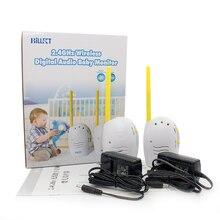 Детские Мониторы Беспроводные Baby Monitor 2.4 ГГц One way Talk Ясно звуковой сигнал Отсутствие Радиации Портативный аудио радионяня плода допплер