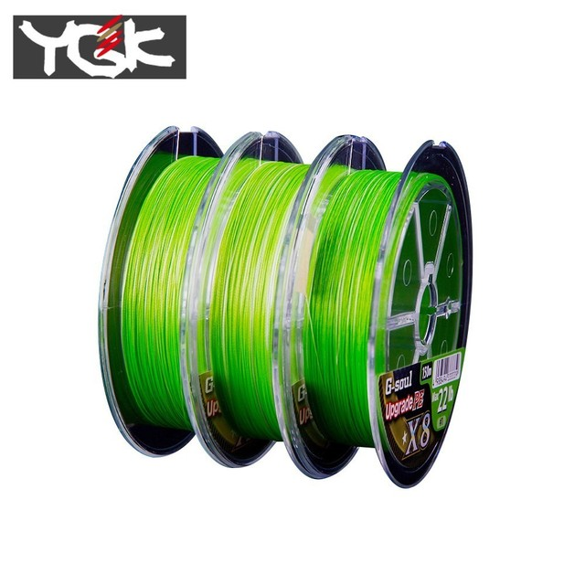 Best YGK G-SOUL 8 Braid Fishing Line Fishing Lines cb5feb1b7314637725a2e7: Green150M|Green200M