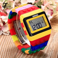 Feida Unisex Colorful Digital Wrist Watch Chirldren 's watch Free shipping&Wholesale
