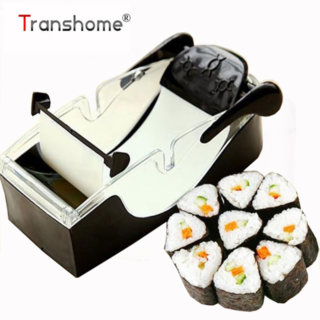 Perfect Magic Roll Easy Sushi Maker Cutter Roller DIY Kitchen Perfect Magic Onigiri Roll Tool Sushi Roller Kitchen Accessories