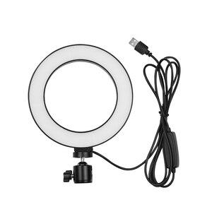 Image 4 - 6 дюймовый светодиодный настольный кольцевой светильник 3200K 5500K, мини лампа освещения для камеры светильник, лампа 3 режима и 10 уровней яркости для макияжа YouTube